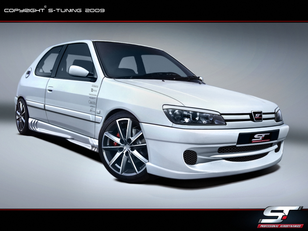 Peugeot 306 Side Skirts S Tuning